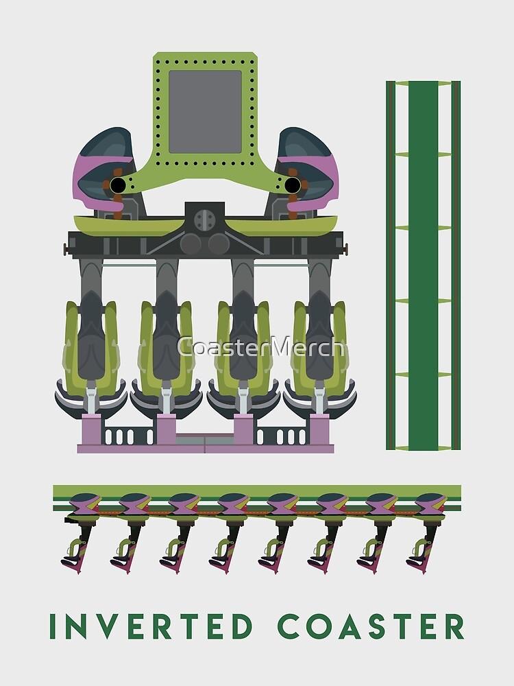 B&M Inverted Coaster Design - Raptor at Cedar Point by CoasterMerch