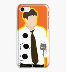 3 Hole Punch Jim iPhone Case/Skin