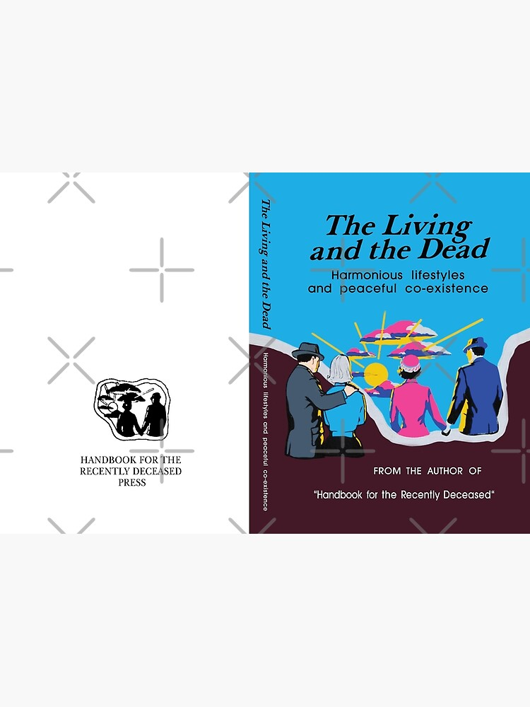 Beetlejuice - The Living and the Dead - Handbook by DCdesign