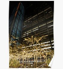 Millions of Christmas Lights in the Heart of Manhattan, New York City Poster