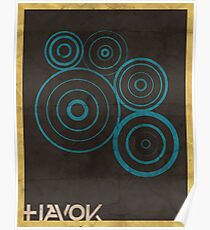 Minimalist Havok Poster