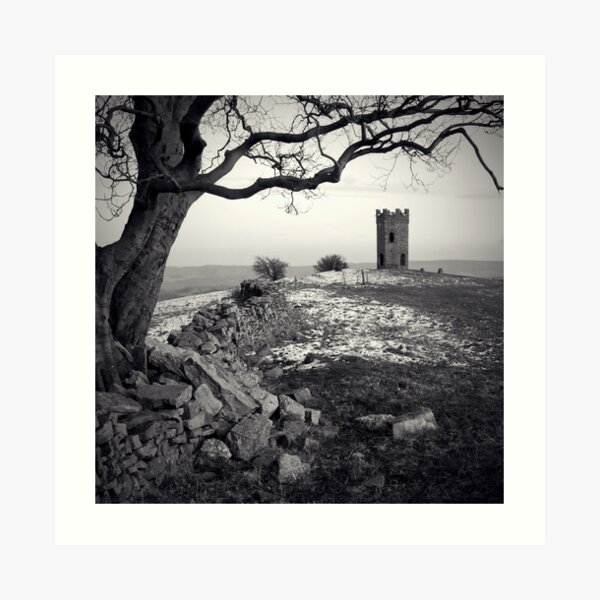 Twr Ffoledd (The Folly Tower) Art Print