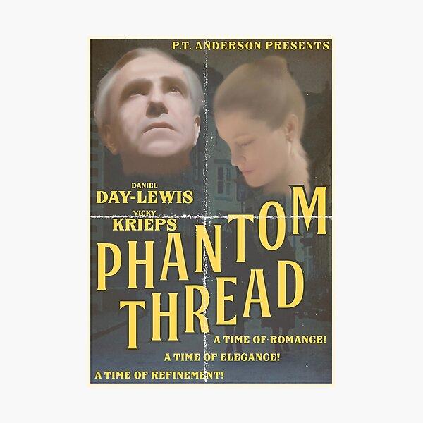 Phantom Thread retro 50's poster Photographic Print
