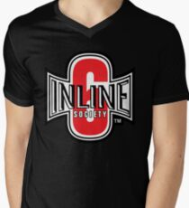 Inline 6 Society - Design #2 Men's V-Neck T-Shirt