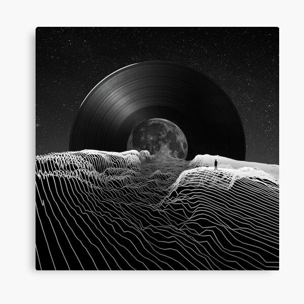 Spin the black circle Canvas Print