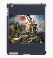 Liberty Leading the People by Eugène Delacroix (1830) iPad Case/Skin