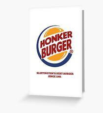 Honker Burger Greeting Card