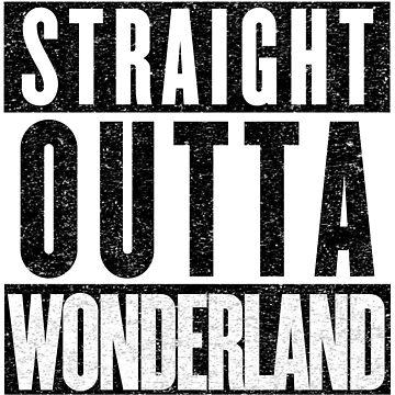 Wonderland Represent! by tuliptreetees