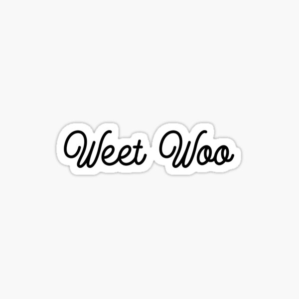 Weet Woo Sticker