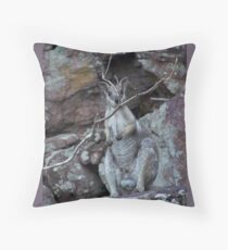 Camouflaged !!! Throw Pillow