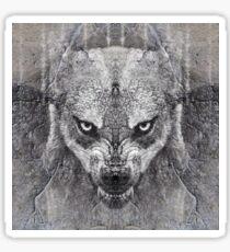 Canis Lupus II Sticker