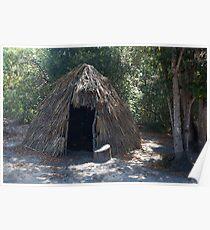 Native Dwelling at La Purisima Concepcion Poster