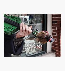 There's a groundhog on my fiddle Photographic Print