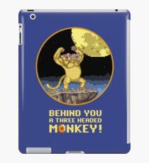 A Three headed Monkey! iPad Case/Skin