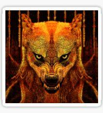Canis Lupus I Sticker