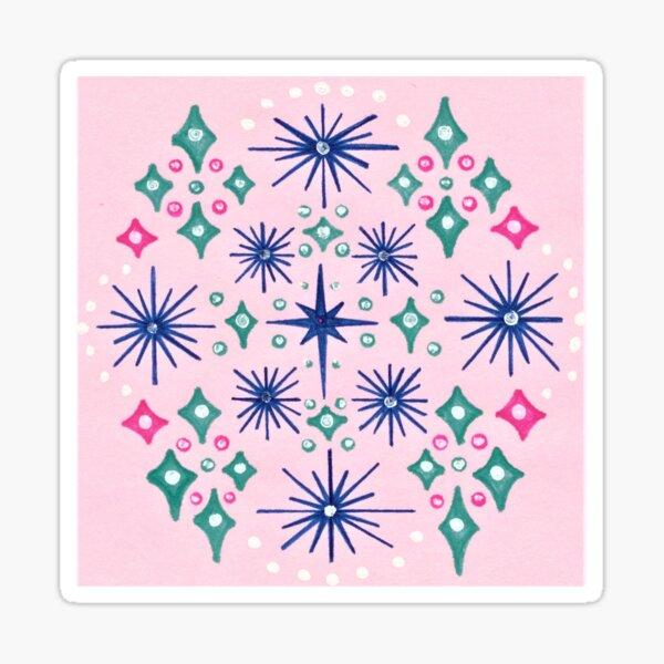 Star Map Sticker