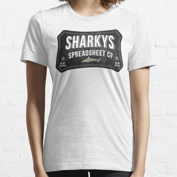 Sharkys Spreadsheet Co Essential T-Shirt