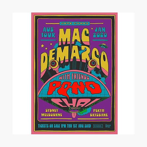 Mac Demarco Retro Design Photographic Print