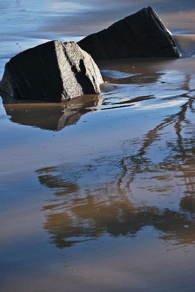 Beach Reflections by Jenni Greene