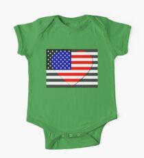 United States Flag T-shirt Kids Clothes
