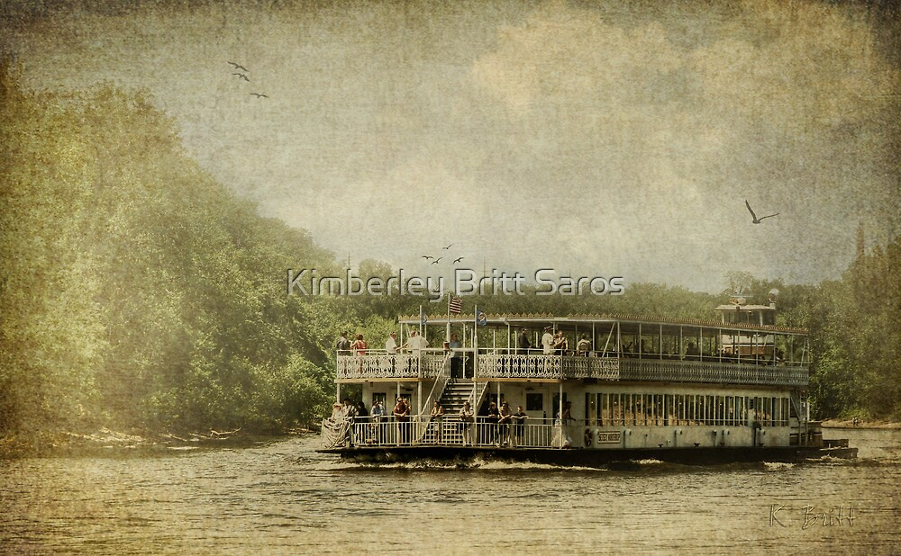 Riding the Great River by KBritt