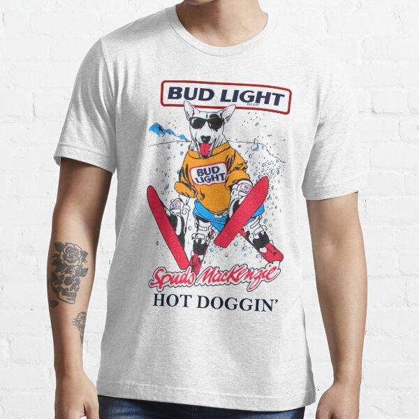 Spuds Mackenzie Snowboard (80s throwback) Essential T-Shirt