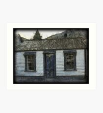 Settlers Cottage.  Arrowtown,South Island, New Zealand Art Print