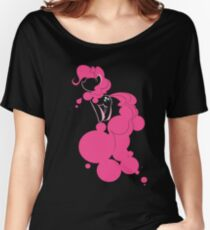 Bubbly Pink Women's Relaxed Fit T-Shirt
