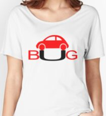 The Love Bug - Vintage cars T-Shirt Women's Relaxed Fit T-Shirt