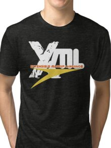 XML -  EXtensible Markup Language Tri-blend T-Shirt