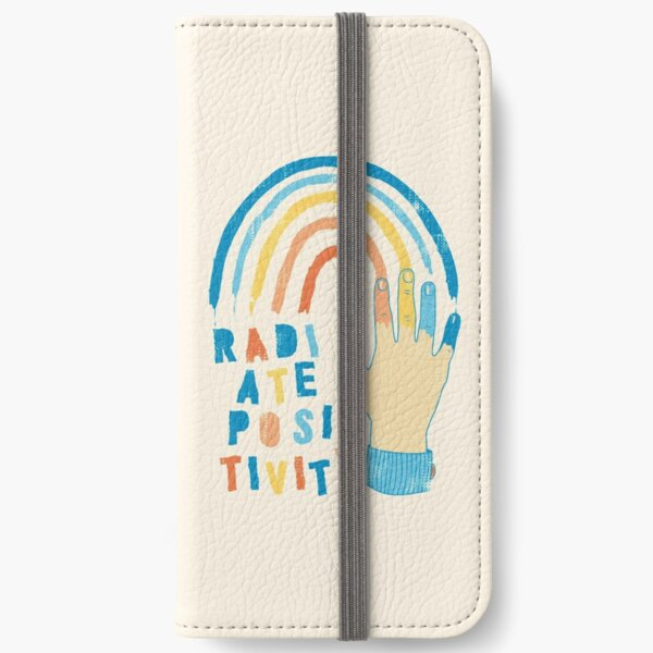 Radiate Positivity iPhone Wallet