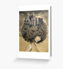 Lady of the Castle Greeting Card