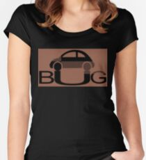 The Love Bug - Vintage cars T-Shirt Women's Fitted Scoop T-Shirt