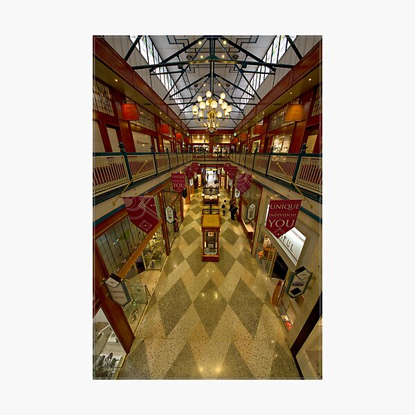 Brisbane Arcade (was the Strand Arcade - from memory) Photographic Print