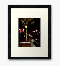 Red Light District Framed Print