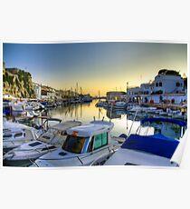 Ciutadella Port 2 Poster