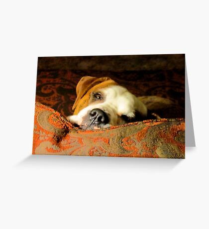 look at me daddy Greeting Card