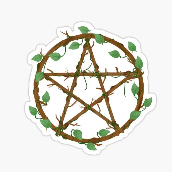 Branches Pentacle Sticker