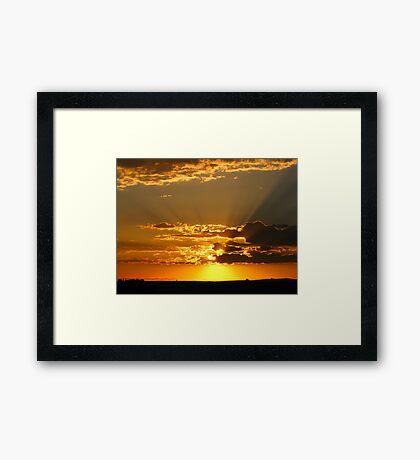 God's Love and Affection (best viewed larger~!) Framed Print