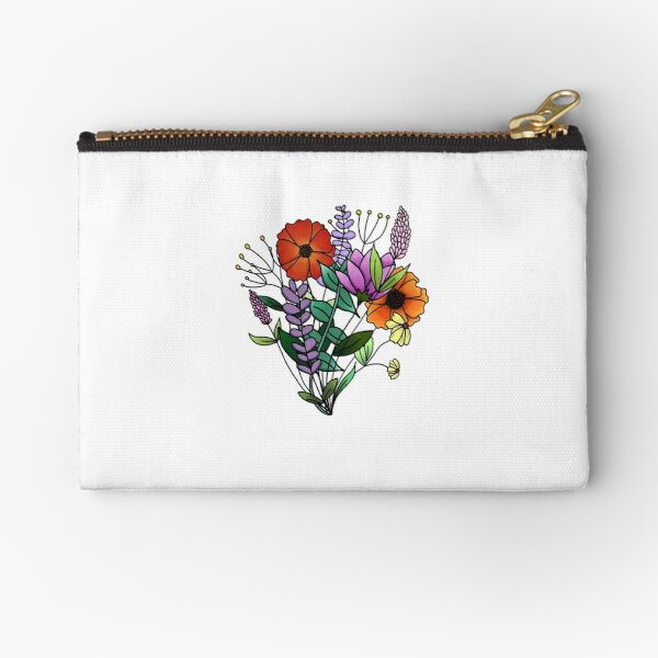 Wildflower Dream Zipper Pouch