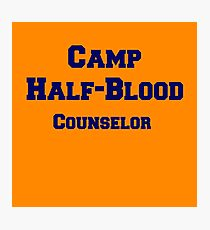 Camp Half-Blood Counselor Photographic Print