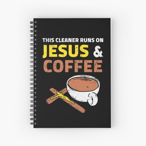 Cleaner Clean Cleaning Lady Man Housekeeping Gift Spiral Notebook
