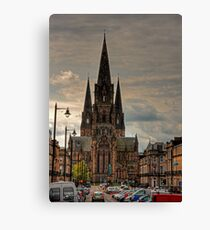 St Mary's Episcopal Cathedral Canvas Print