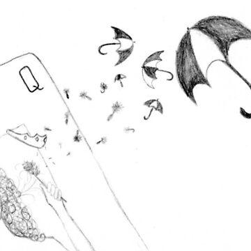 queen of umbrellas by asinglenote