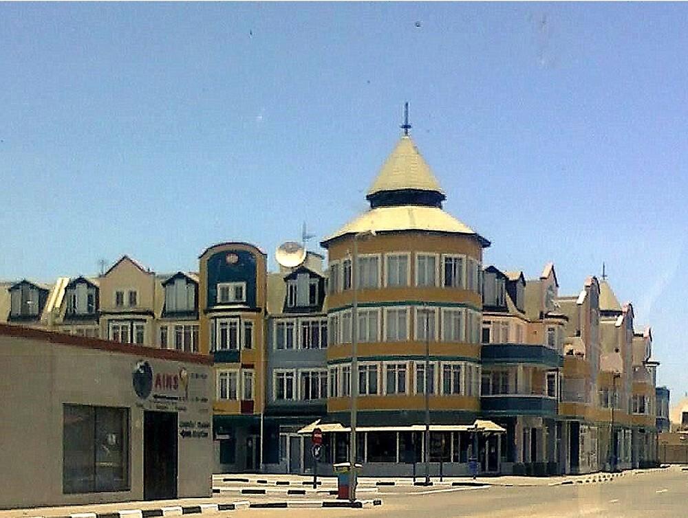 german architecture swakopmund namibia africa by irene van