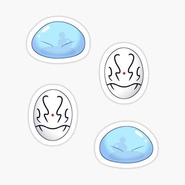 Slime Tensura Rimuru Tempest Shizue Mask Stickers Sticker