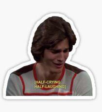 Half/half Sticker