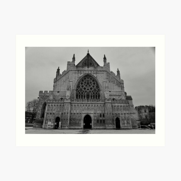 Moody Cathedral Art Print