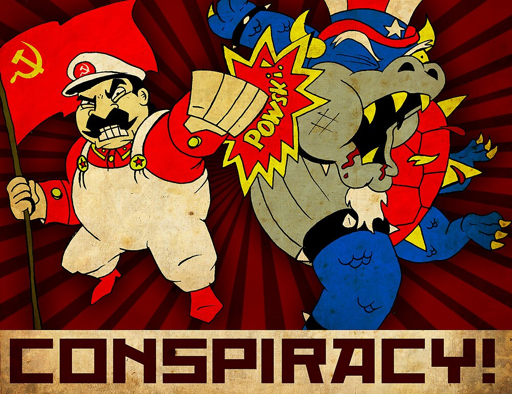 Stalin Is Mario! by PremierGrunt