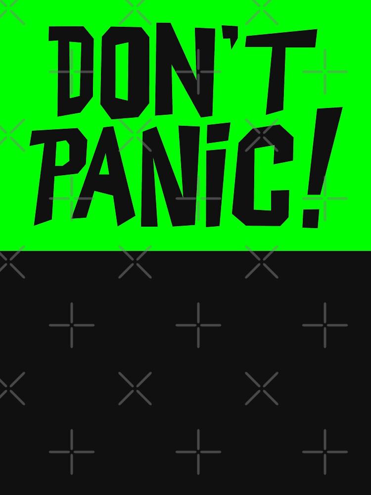 NDVH Don't Panic - Green 2 H2G2 by nikhorne